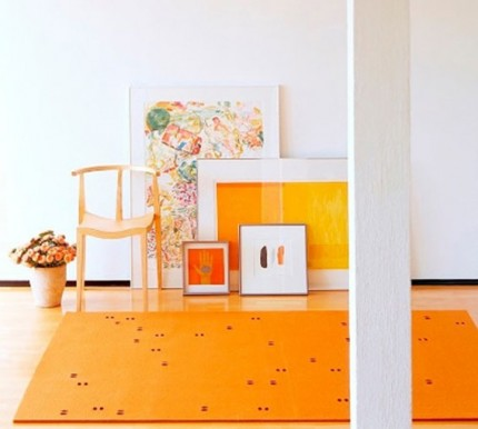 Orange rugs