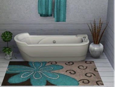 Bathroom Rugs on Get Your Bathroom Festooned With Chic Bathroom Rugs