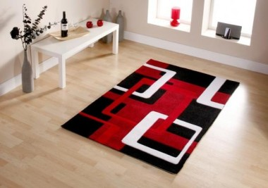 adorn your home with stunning cheap red rugs online