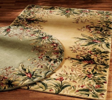 Add Finesse To Your Kitchen Spaces With Tropical Area Rugs