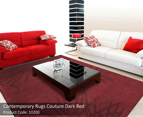 Contemporary rugs to complement brown living room furniture What color compliments brown furniture