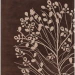 black and brown floral rugs