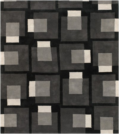 black and grey rugs