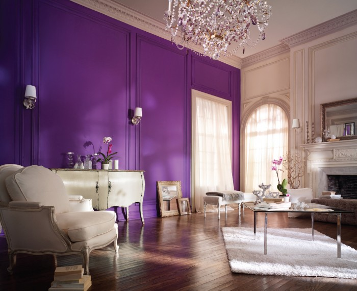 Royal Purple Bedrooms Home Decorating Ideas