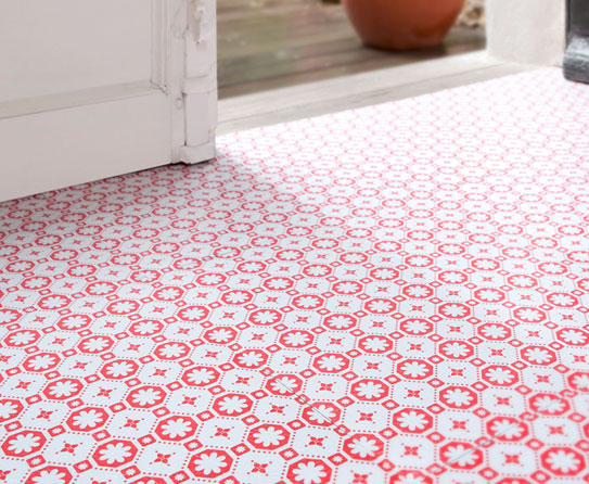 Vinyl Flooring With Flower Design Joy Studio