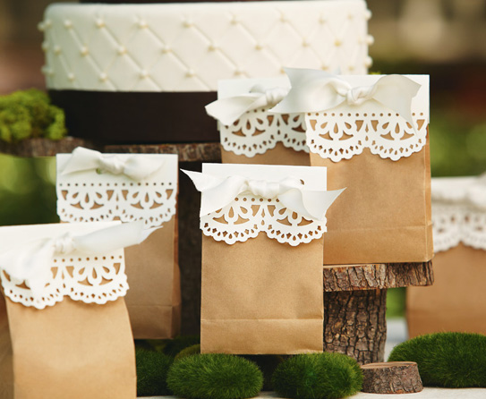 Paper Bag Wedding Favor Ideas : ... wedding this is a gorgeous looking carry bag as well as favor bag for
