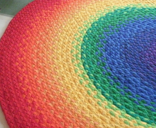 Colorful Braided Rugs