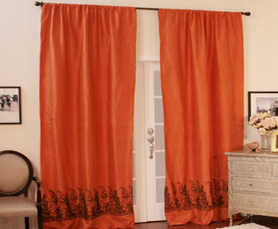 Solid Color Curtains Eye Opening Home Design Idea