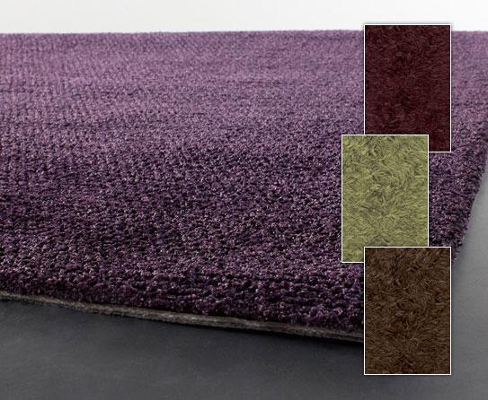 purple solid shag rugs