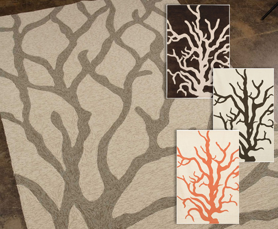 Contemporary Rugs Inspired From Parts Of Trees