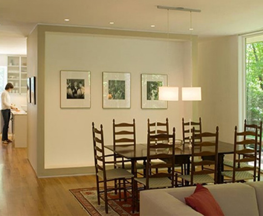 dining room recessed lighting make it large rooms with