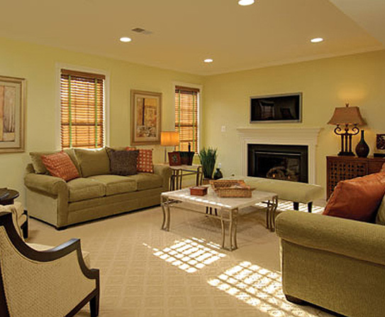 Make It Large Rooms With Recessed Lighting