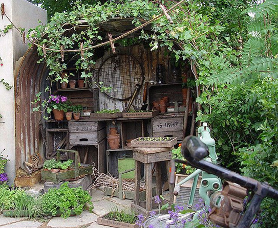 Tifany Blog Diy How To Build A Rustic Potting Shed