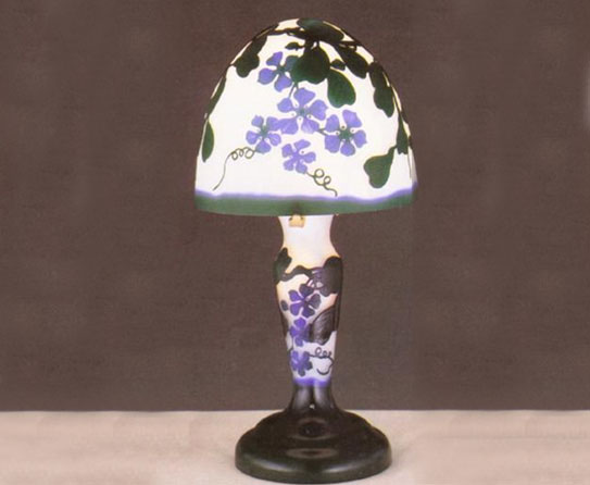 Lavender Floral Table Lamps