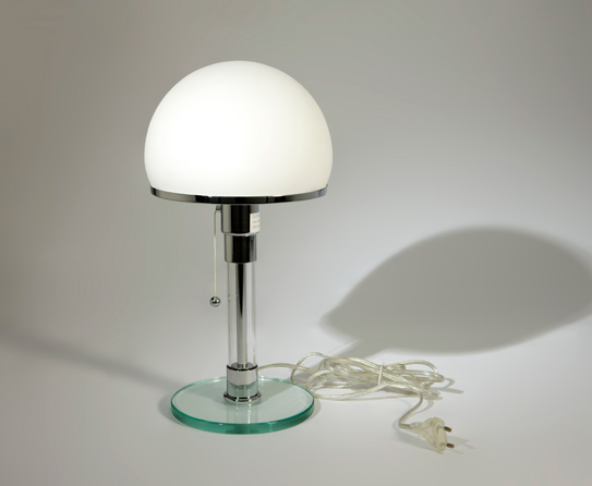 Pearly White Table Lamp