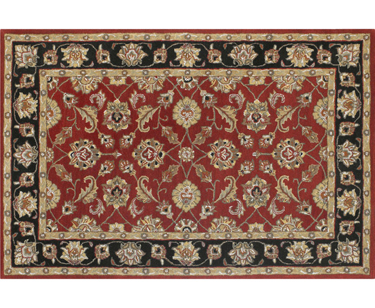 The Different Patterns Visible On a Persian Rug