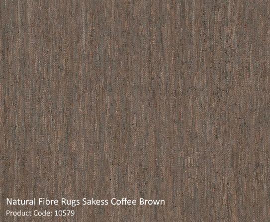 Coffee Brown Natural Rug