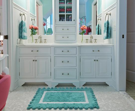 perky turquoise bathroom ideas