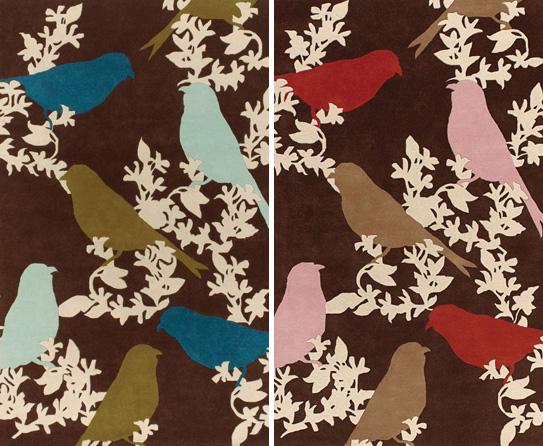 Captivating Bird Themed Rugs