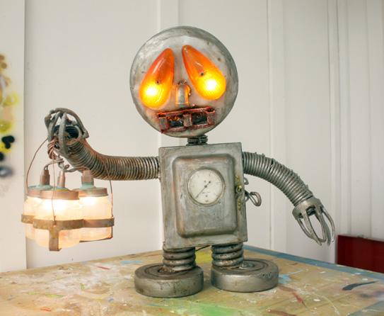 Robot Themed Home D 233 Cor