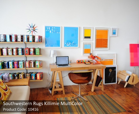 Floors made unique by southwestern rugs for Southwestern flooring