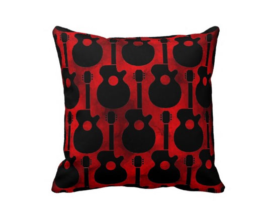 Rock And Roll With Guitar Home Decor