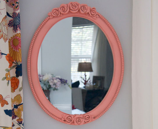 how to make an old mirror look new