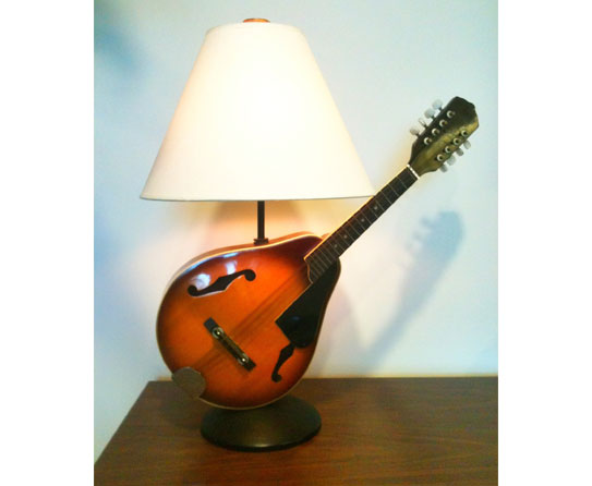 Retune Style With Upcycled Music Instrument Accents
