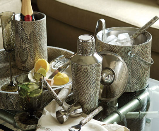 5 Snakeskin Bar Accessories. Redefine The Ambiance Of Your Home ...