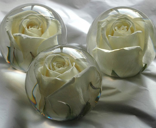 Bejewel your home decor with paperweight mementos flower paperweights5 mightylinksfo