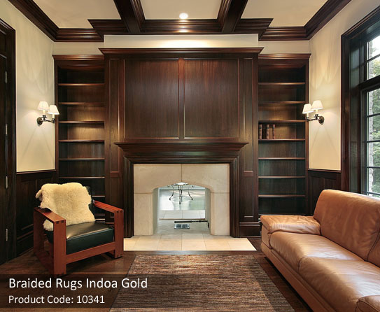 Gold Braided Rug4