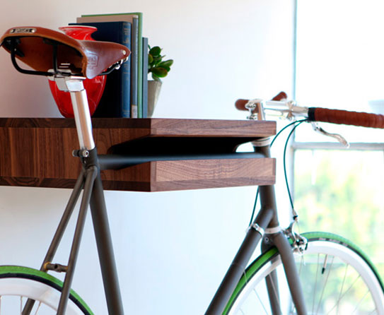 smart home decor ideas for bicycle lovers