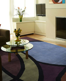 Multicolored rug 1111