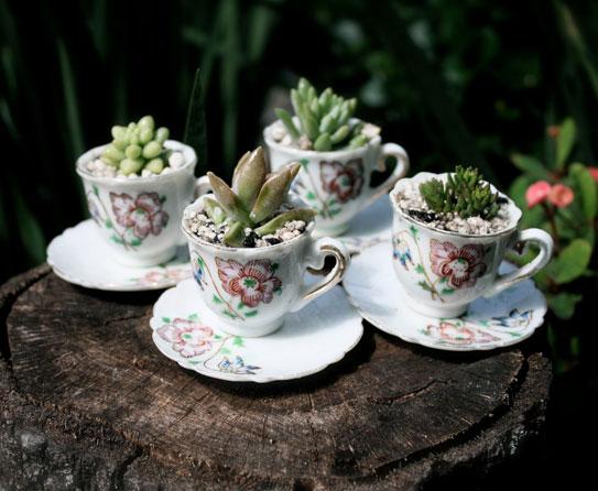 Get Crafty By Repurposing Tea Cups
