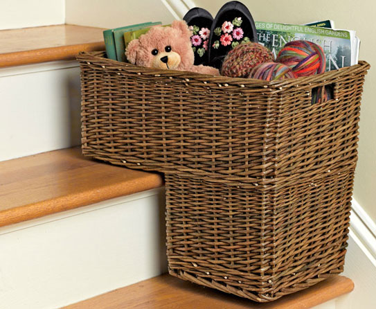 decorate with wicker