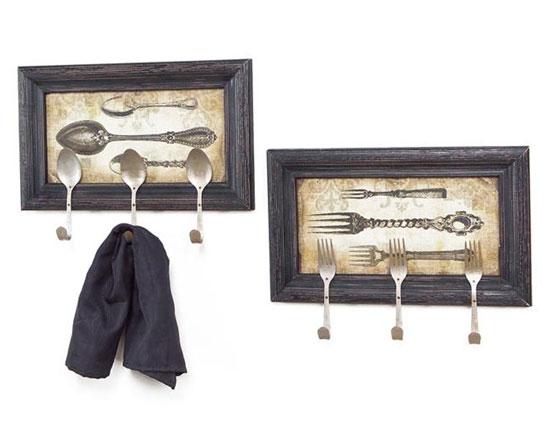 fork photo frame hooks