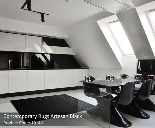 Black Contemporary Rug7