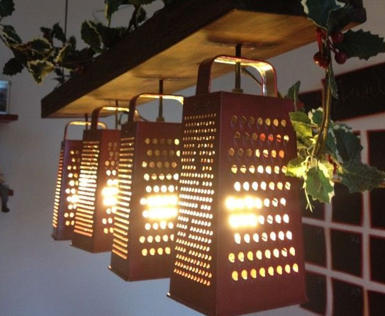 Recycled Metal Light Fixtures for your Home -> Decoration Mecanique