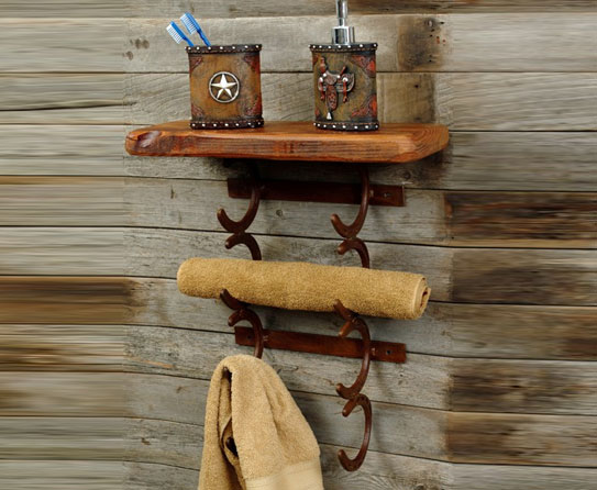 Out Of Town Horseshoe Art For Farmhouse Interiors