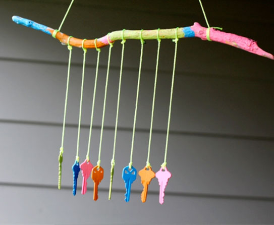 Key Wind Chime 1
