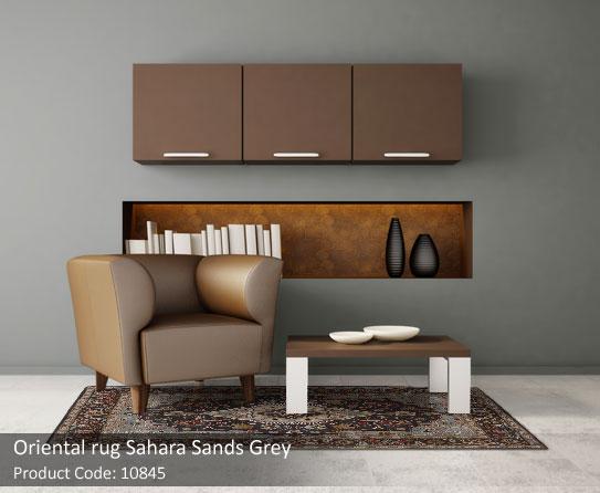 Oriental Sand Grey rug 6