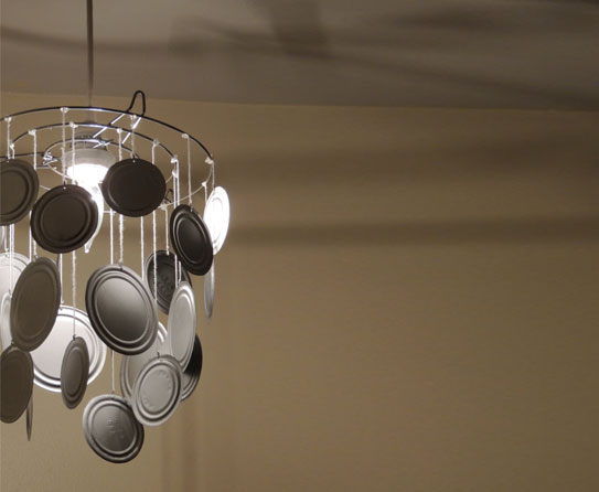 Recycled Metal Light Fixtures For Your Home
