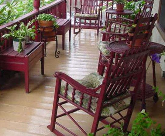 Wooden deck 1