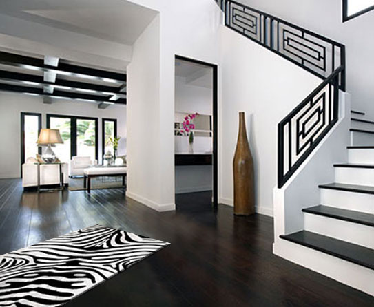 black and white home decor suggestions for monochromatic. Black Bedroom Furniture Sets. Home Design Ideas