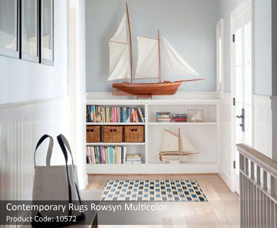 Contemporary rug beige 2