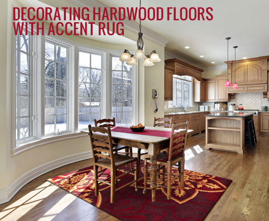 Hardwood Floors And Rugs Make A Perfect Match