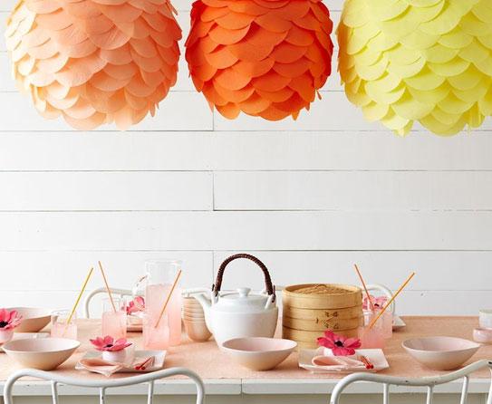 Lanterns Crepe Paper Crafts  1