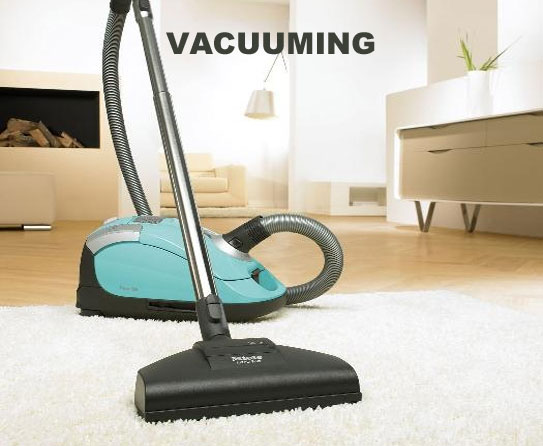 Vacuuming 7
