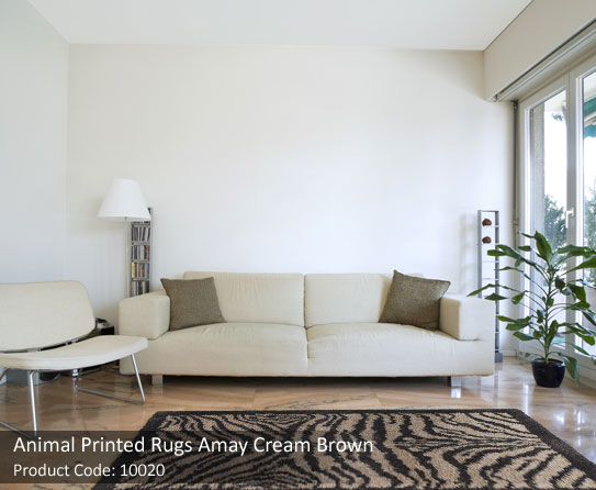 Animal print rugs express new generation flooring for Room decor jeneration