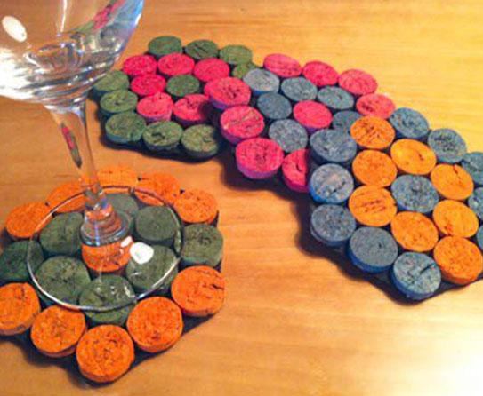 Coaster cork 4